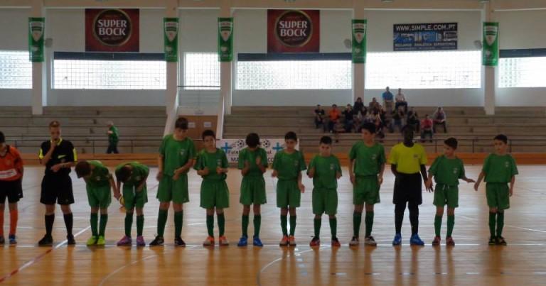 Excelente Futsal dos Infantis Brancos no empate com o São Brás A