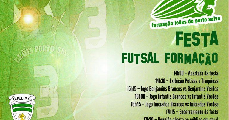 Festa da Formação do Futsal