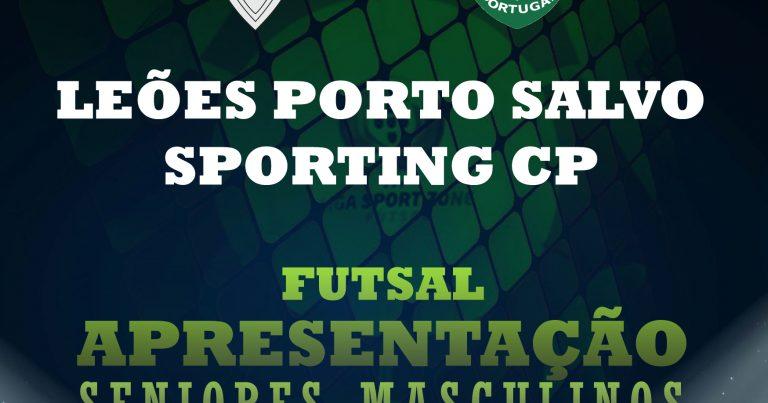 Jogo de Apresentação frente ao Sporting CP