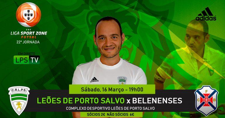 Duas semanas depois da Taça, o jogo com o Belenenses terá outra história