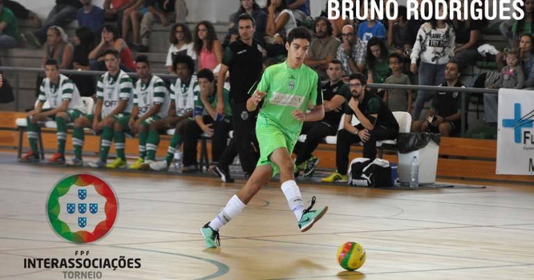 Bruno Rodrigues na Seleção de Lisboa Sub 17