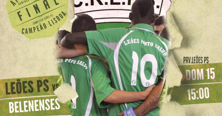 Juniores Masculinos a 40 minutos de serem Campeões de Lisboa