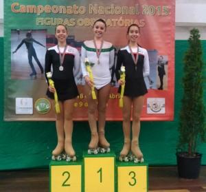 Carolina Andrade Campeã Nacional Seniores2015 F.O.