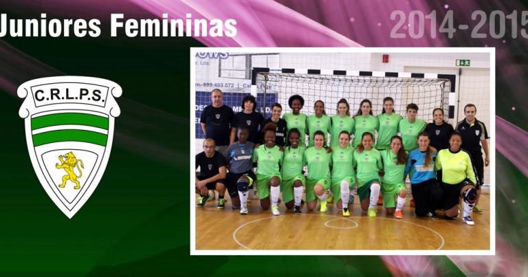 Juniores Femininas na Final Four da Taça Nacional