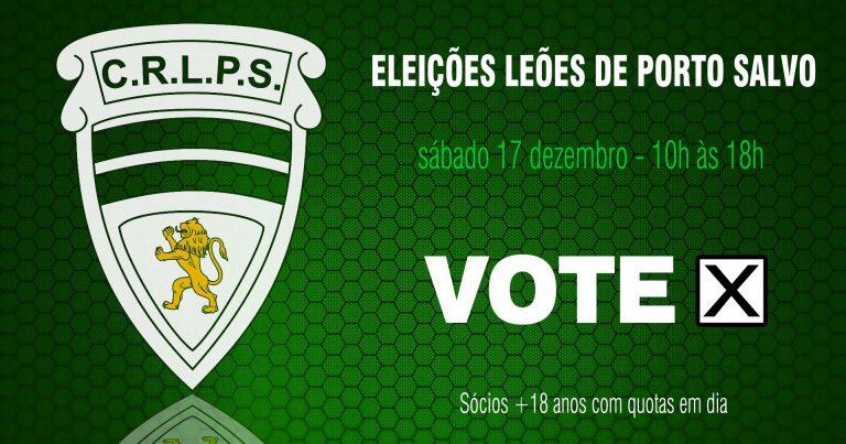 Eleições Corpos Gerentes para o Biénio 2017/2018