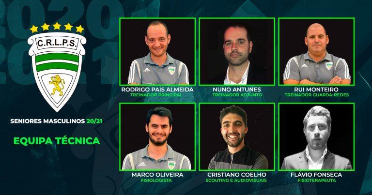 Equipa Técnica Seniores Masculinos 2020/21