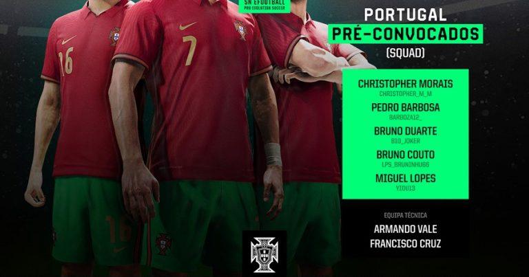 Jogador dos Leões Porto Salvo na Seleção Nacional de Futebol Virtual PES