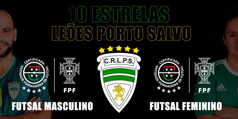 10 Estrelas continuam no Leões Porto Salvo